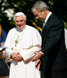 Bush Welcomes an Anti-Christ